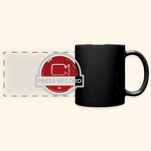 Press Record Button - Full Color Panoramic Mug