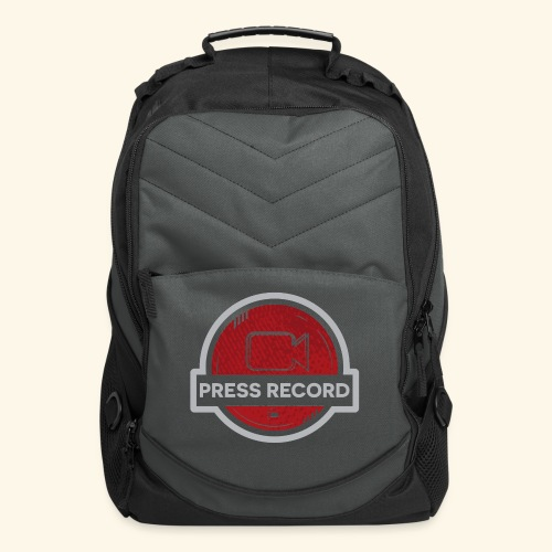 Press Record Button - Computer Backpack