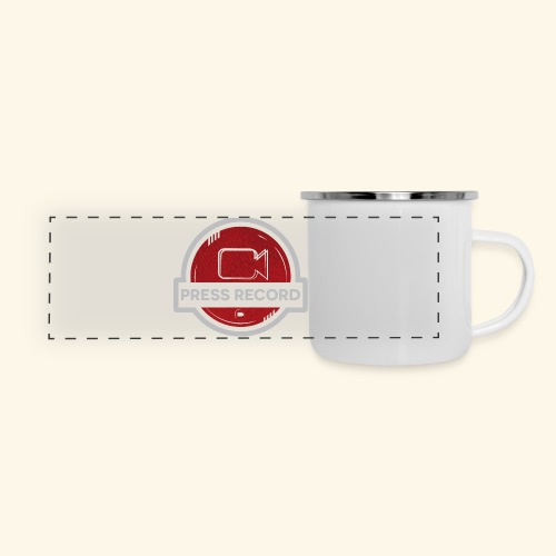 Press Record Button - Panoramic Camper Mug