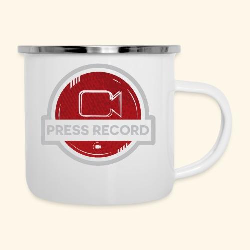 Press Record Button - Camper Mug