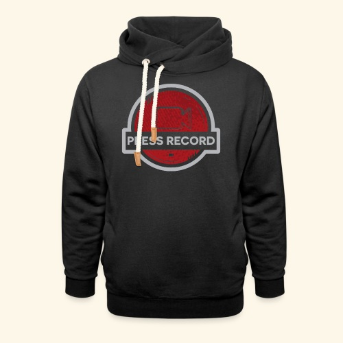 Press Record Button - Shawl Collar Hoodie