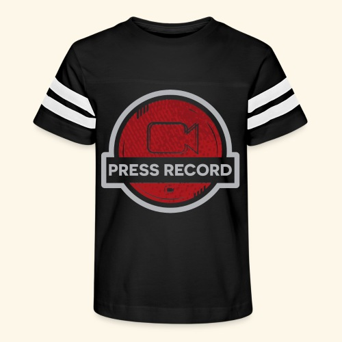 Press Record Button - Kid's Vintage Sport T-Shirt