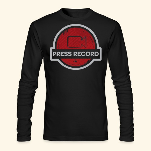 Press Record Button - Men's Long Sleeve T-Shirt by Next Level