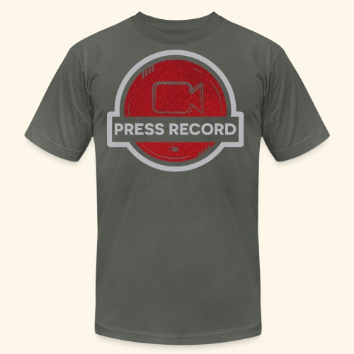 Press Record Button - Men's Jersey T-Shirt