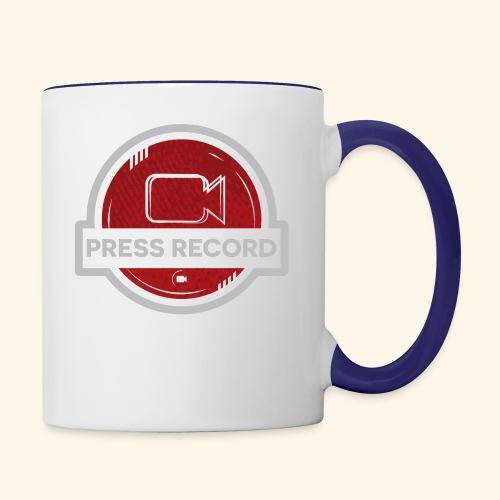 Press Record Button - Contrast Coffee Mug