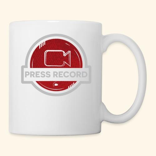 Press Record Button - Coffee/Tea Mug