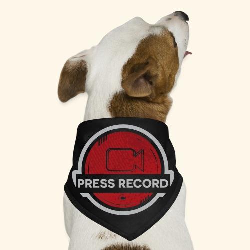 Press Record Button - Dog Bandana