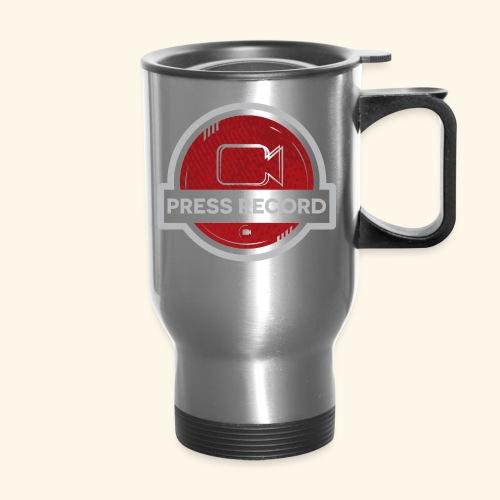 Press Record Button - Travel Mug