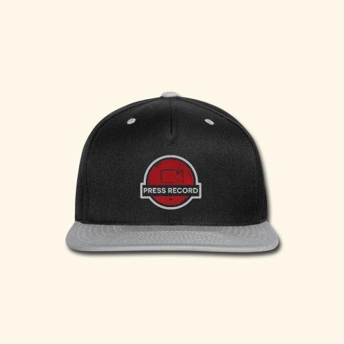 Press Record Button - Snap-back Baseball Cap