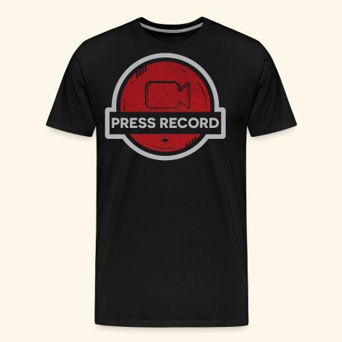 Press Record Button - Men's Premium T-Shirt