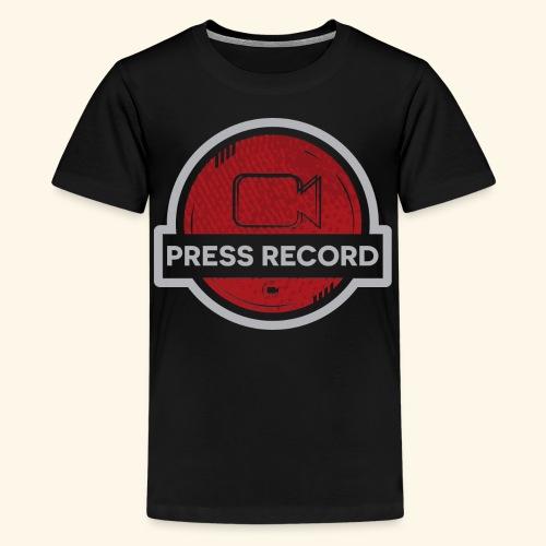 Press Record Button - Kids' Premium T-Shirt