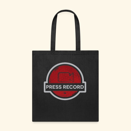 Press Record Button - Tote Bag