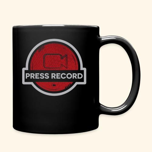 Press Record Button - Full Color Mug