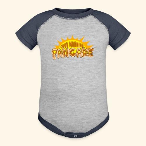 Goodmorning Pancake 2 Kids - Contrast Baby Bodysuit