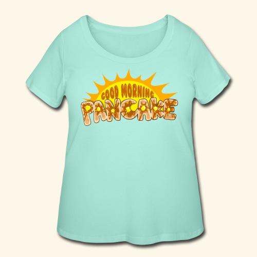 Goodmorning Pancake 2 Kids - Women's Curvy T-Shirt