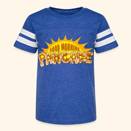 Goodmorning Pancake 2 Kids - Kid's Vintage Sport T-Shirt