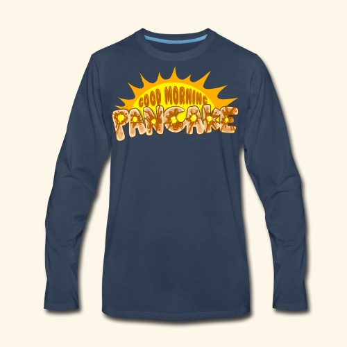 Goodmorning Pancake 2 Kids - Men's Premium Long Sleeve T-Shirt