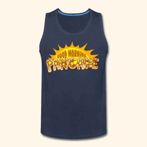 Goodmorning Pancake 2 Kids - Men's Premium Tank