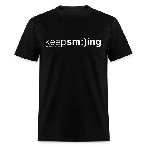 Keep Smiling Men's T-shirt - Men's T-Shirt