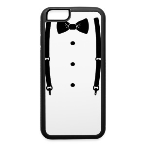 Bow tie for the cool guy - iPhone 6/6s Rubber Case