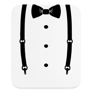 Bow tie for the cool guy - Mouse pad Vertical