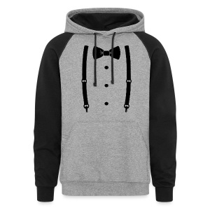 Bow tie for the cool guy - Colorblock Hoodie