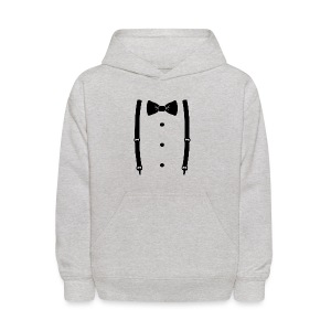 Bow tie for the cool guy - Kids' Hoodie
