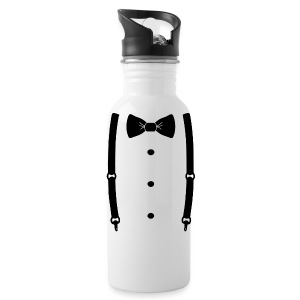 Bow tie for the cool guy - Water Bottle