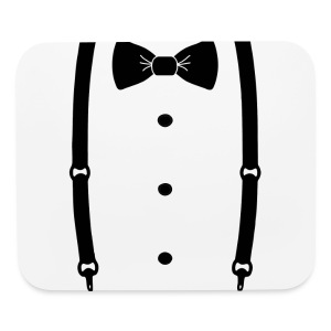 Bow tie for the cool guy - Mouse pad Horizontal