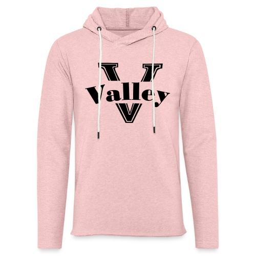 Valley Pink - Unisex Lightweight Terry Hoodie
