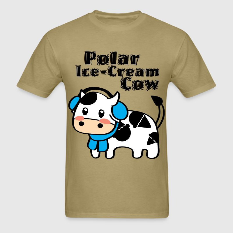 Polar Ice-Cream Cow T-Shirts - Men's T-Shirt