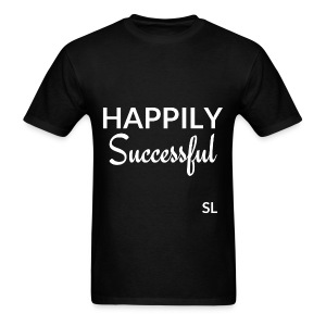 Happily Successful T shirt by Stephanie Lahart. - Men's T-Shirt