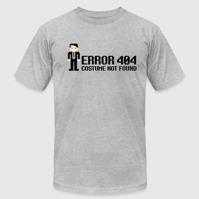 Error 404  - Costume not found T-Shirts - Men's T-Shirt by American Apparel