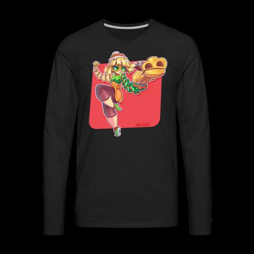 Minmin | Women's - Men's Premium Long Sleeve T-Shirt