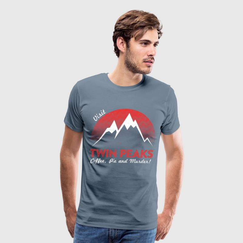 Visit twin peaks - Men's Premium T-Shirt