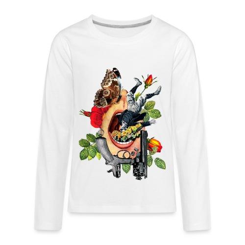 Open Mouth Art - Kids' Premium Long Sleeve T-Shirt