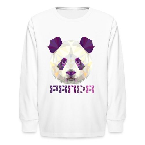 Violet Panda - Kids' Long Sleeve T-Shirt
