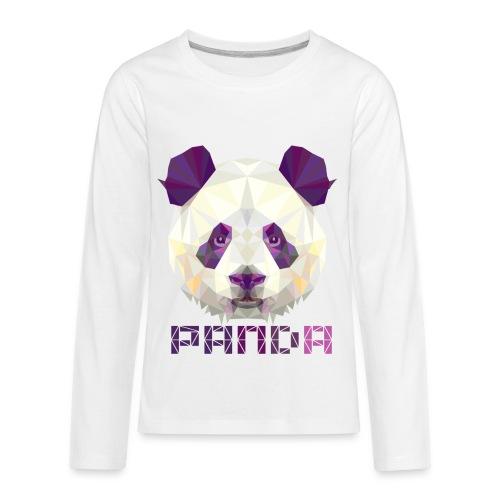 Violet Panda - Kids' Premium Long Sleeve T-Shirt
