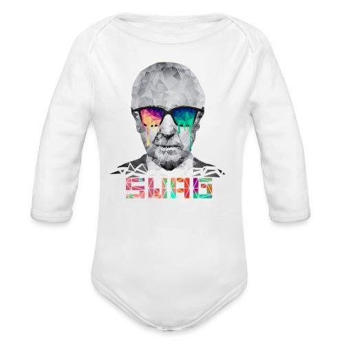 OLDMAN Swag - Organic Long Sleeve Baby Bodysuit