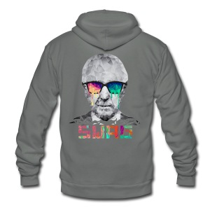 OLDMAN Swag - Unisex Fleece Zip Hoodie by American Apparel