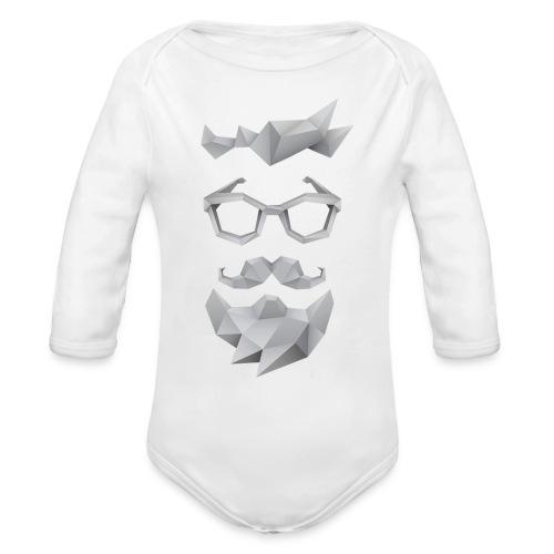 Nerd X SwagTheBeard - Organic Long Sleeve Baby Bodysuit