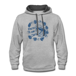 Protect Your Nuts - Contrast Hoodie