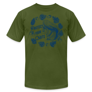 Protect Your Nuts - Men's Fine Jersey T-Shirt