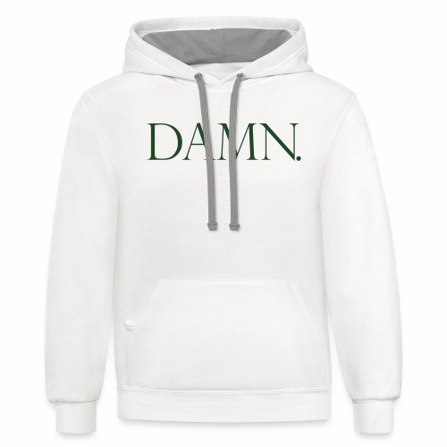 DAMN - Contrast Hoodie