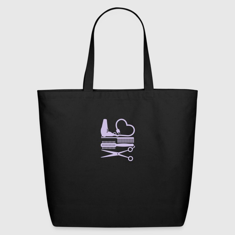 hair stylist's tools (1c) Bags  - Eco-Friendly Cotton Tote