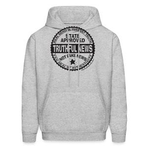 Truthful News FCC Seal - Men's Hoodie
