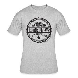 Truthful News FCC Seal - Men's 50/50 T-Shirt