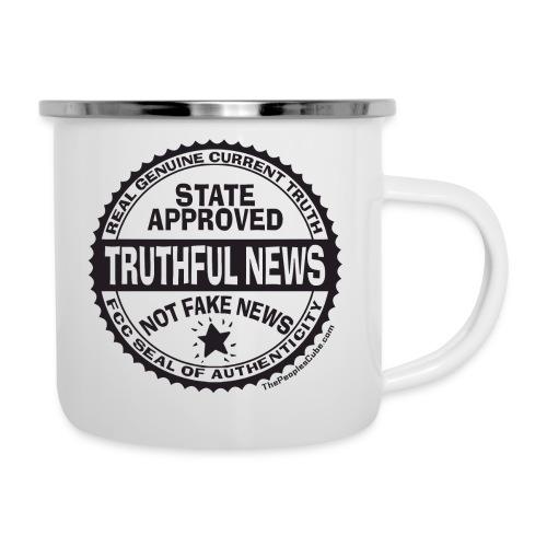Truthful News FCC Seal - Camper Mug