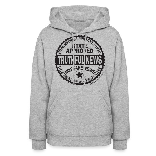 Truthful News FCC Seal - Women's Hoodie