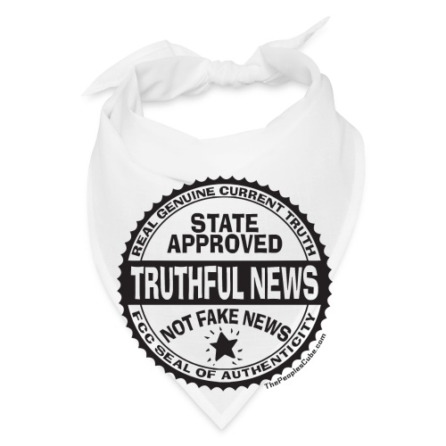 Truthful News FCC Seal - Bandana